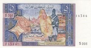Algeria, 5 Francs, 1970, UNC, p126a