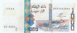 Algeria, 1.000 Rials, 2018, UNC, pNew