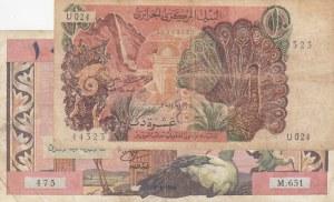 Algeria, 10 Dinars (2), 1964/1970, FINE / VF,  (Total 2 banknotes)