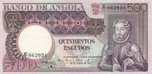 Angola, 500 Escudos, 1973, XF, p107