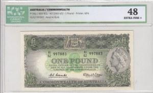 Australia, 1 Pound, 1961-65, XF, p34a, ICG 48
