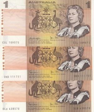 Australia, 1 Dollar, 1983, AUNC, p42d