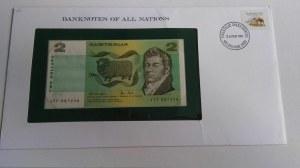 Australia, 2 Dollars, 1979, UNC, p43c, FOLDER