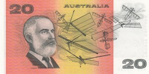 Australia, 20 Dollars, 1991, AUNC, p46h