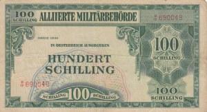 Austria, 100 Shillings, 1944, FINE, p110