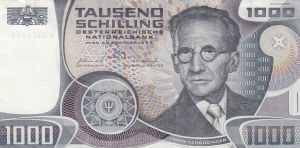 Austria, 1.000 Shillings, 1983, XF, p152b