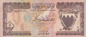 Bahrain, 1/2 Dinar, 1973, FINE, p7
