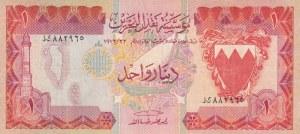 Bahrain, 1 Dinar, 1973, XF, p86a