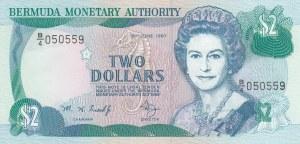 Bermuda, 2 Dollars, 1997, UNC, p40Ab