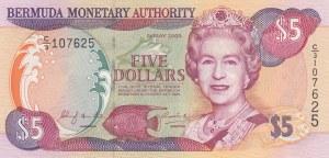 Bermuda, 5 Dollars, 2000, UNC, p51a