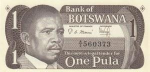 Botswana, 1 Pula, 1983, UNC, p6