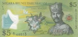 Brunei, 5 Ringgit, 2011, UNC, p36