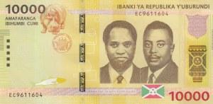 Burundi, 10.000 Francs, 2015, UNC, p54