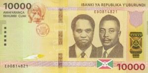 Burundi, 10.000 Francs, 2018, UNC, pNew
