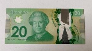 Canada, 20 Dollars, 2012, UNC, p108b