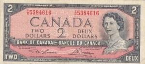 Canada, 2 Dollars, 1973/1975, VF, p76d