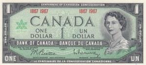 Canada, 1 Dollar, 1967, UNC, p84a