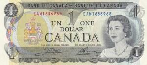 Canada, 1 Dollar, 1973, UNC, p85c