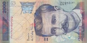 Cape Verde, 2.000 Escudos, 1999, VF, p66