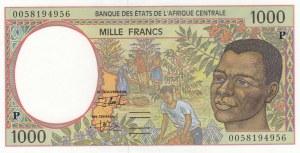 Central African States, 1000 Francs, 1993, UNC, p202ea