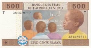 Central African States, 500 Francs, 2002, UNC, p206u