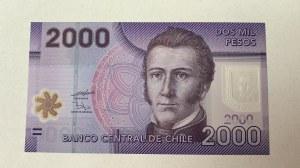 Chile, 2.000 Pesos, 2009, UNC, p162a