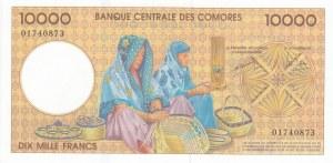 Comoros, 10.000 Francs, 1997, UNC, p14