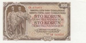 Czechoslovakia, 100 Koruns, 1953, UNC, p86b