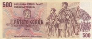 Czechoslovakia, 500 Korun, 1973, XF, p93