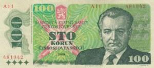 Czechoslovakia, 100 Korun, 1989, XF, p97