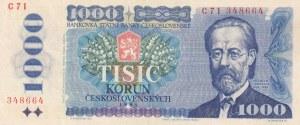 Czechoslovakia, 1.000 Korun, 1985, XF, p98