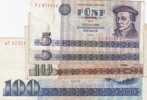 Democratic Germany,  Total 4 banknotes