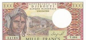 Djibouti, 1.000 Francs, 1988, UNC, p37b