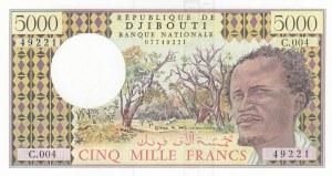 Djibouti, 5.000 Francs, 1979, UNC, p38c