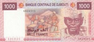 Djibouti, 1.000 Francs, 2005, UNC, p42a