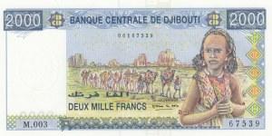 Djibouti, 2.000 Francs, 2005, UNC, p43