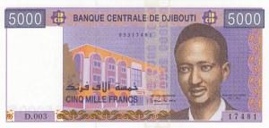 Djibouti, 5.000 Francs, 2002, UNC, p44