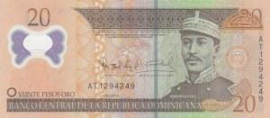 Dominican Republic, 20 Pesos Oro, 2009, UNC, p182a