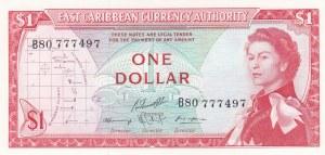 East Caribbean States, 1 Dollar, 1965, UNC, p13f