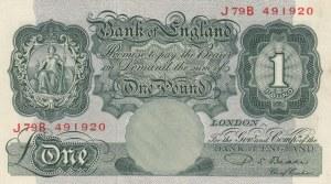 Great Britain, 1 Pound, 1948, AUNC(-), p369b