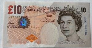 Great Britain, 10 Pounds, 2004, UNC, p389c