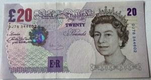 Great Britain, 20 Pounds, 2004, UNC, p390b