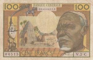 Equatorial African States, 100 Francs, 1963, VF, p3c