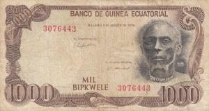 Equatorial Guinea, 1000 Bipkwele, 1979, FINE, p16
