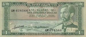 Ethiopia, 1 Dollar,  VF, p25