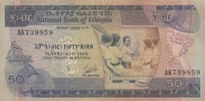 Ethiopia, 50 Birr, 1976, VF, p33b