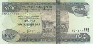 Ethiopia, 100 Birr, 2012, UNC, p52f