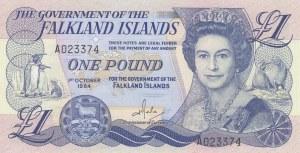 Falkland Islands, 1 Pound, 1984, UNC, p13a