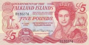 Falkland Islands, 5 Pounds, 2005, UNC, p17