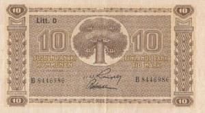 Finland, 10 Markkaa, 1939, VF / XF, p70